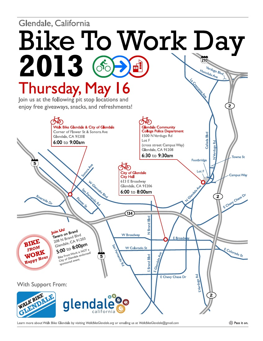 Bike to Work Day Pit Stop Map!