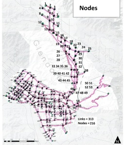 glendale proposed bike plan nodes